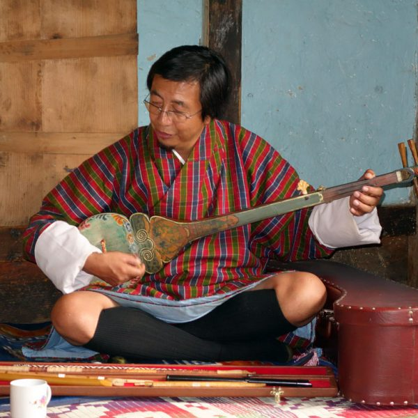 The Wandering and Storytelling Musicians